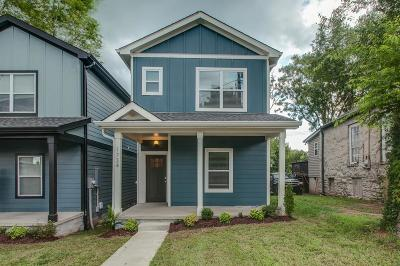 Nashville  Single Family Home For Sale: 1734 McKinney Ave