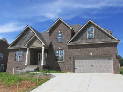 Clarksville Single Family Home Under Contract - Showing: 121 Thomas Traylor Ln