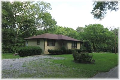 Pegram Single Family Home Under Contract - Showing: 873 Thompson Rd