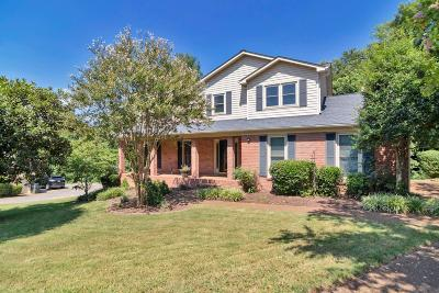 Old Hickory Single Family Home For Sale: 5265 Rustic Way