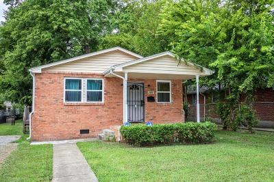Nashville Single Family Home For Sale: 1621 14th Ave