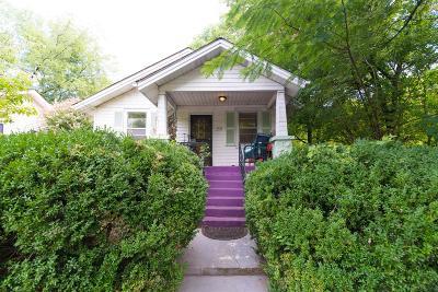 Nashville Single Family Home For Sale: 1713 Eastside Ave