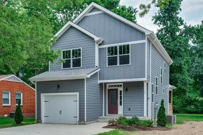 Davidson County Single Family Home Under Contract - Not Showing: 107 Hickerson St