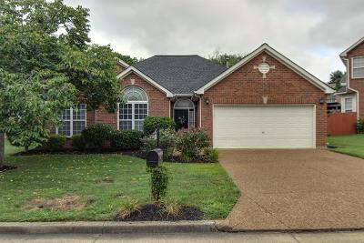 Brentwood  Single Family Home Under Contract - Showing: 6745 Autumn Oaks Dr