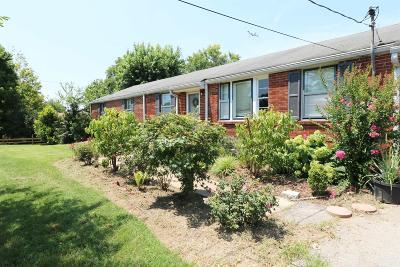 Nashville Single Family Home For Sale: 216 Willard Dr