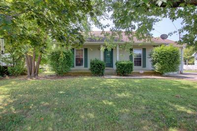 Clarksville Single Family Home Under Contract - Showing: 606 Pembrook Pl