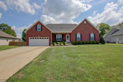 Clarksville TN Single Family Home For Sale: $230,000