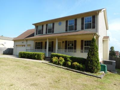 Clarksville TN Single Family Home For Sale: $155,500