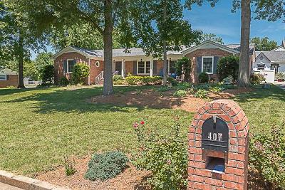 Murfreesboro Single Family Home For Sale: 407 Rushwood Dr