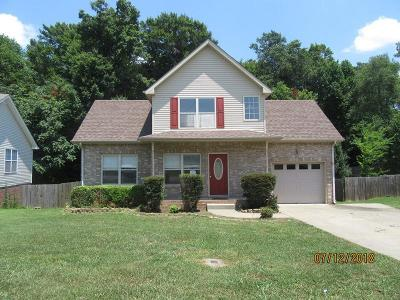 Clarksville Single Family Home Under Contract - Showing: 2577 Centerstone Cir