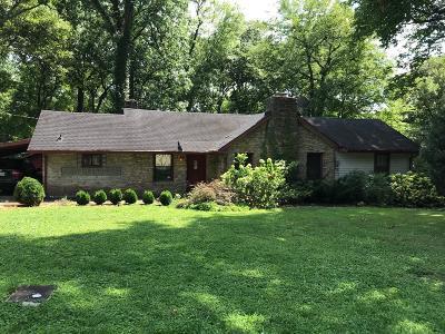 Nashville Single Family Home For Sale: 4605 Log Cabin Rd