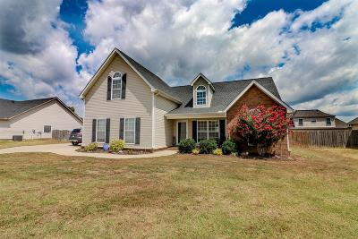 Murfreesboro Single Family Home For Sale: 3360 Cornerstone Dr