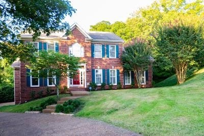Brentwood Single Family Home Under Contract - Showing: 1500 Woodward Ct