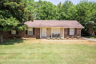 Hendersonville Single Family Home Under Contract - Showing: 113 Hillside Dr