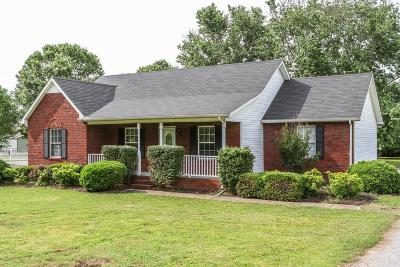 Murfreesboro Single Family Home For Sale: 2654 Dilton Mankin Rd.