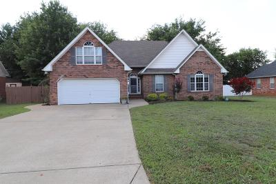 Murfreesboro Single Family Home Under Contract - Showing: 2503 English Hill Dr