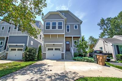 Nashville Single Family Home For Sale: 2506 Carter Ave Lot A