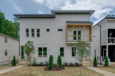 Nashville Single Family Home For Sale: 521 B Moore