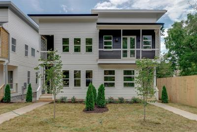 Nashville Single Family Home For Sale: 523 A Moore