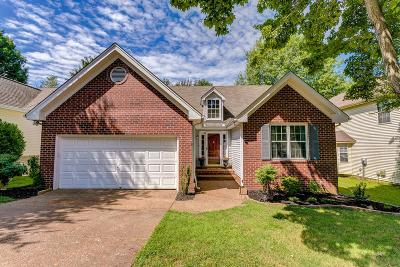 Franklin Single Family Home Under Contract - Showing: 304 Crooked Oak Ct