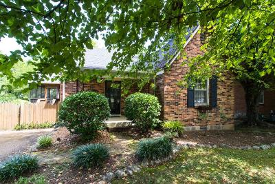 Nashville Single Family Home Under Contract - Not Showing: 264 Sunrise Ave
