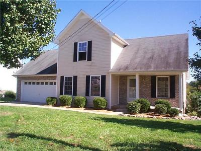 Clarksville Single Family Home For Sale: 1487 McKinley Ct