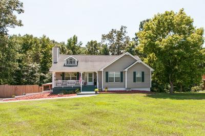 Kingston Springs Single Family Home Under Contract - Showing: 1005 Pointe Trace Dr