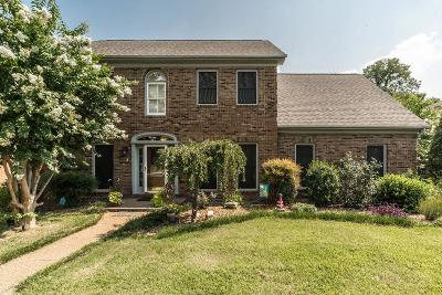 Nashville Single Family Home For Sale: 624 Andrew Rucker Ln
