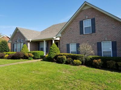 Sumner County Single Family Home Under Contract - Not Showing: 160 Hedgeway Ct