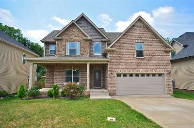 Clarksville Single Family Home For Sale: 1276 Brigade Dr