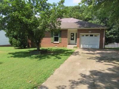 Clarksville Single Family Home For Sale: 823 Hadley Rd
