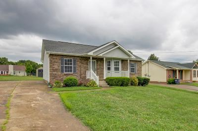 Clarksville Single Family Home Under Contract - Showing: 275 Moncrest Dr