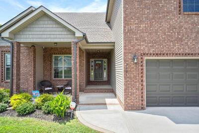 Houston County, Montgomery County, Stewart County Single Family Home Under Contract - Showing: 3421 N Henderson Way