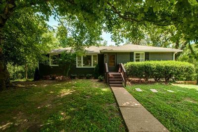 Nashville Single Family Home For Sale: 981 Davidson Dr