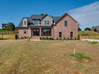 Robertson County Single Family Home Under Contract - Showing: 4058 Oak Pointe Dr