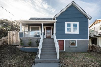 Nashville Single Family Home Under Contract - Showing: 1313 2nd Ave S