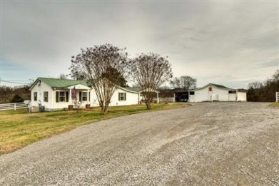Lewisburg Single Family Home For Sale: 1485 Cornersville Hwy