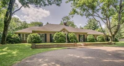 Belle Meade Single Family Home Under Contract - Showing: 1219 Chickering Road