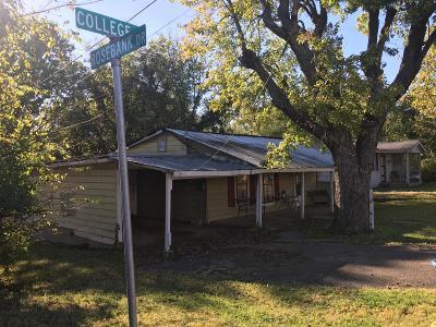 Murfreesboro Single Family Home For Sale: 1015 W College St