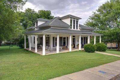 Mount Pleasant Single Family Home For Sale: 608 Wall Street
