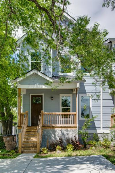East Nashville Single Family Home Under Contract - Showing: 1057 A Zophi St