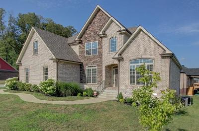 Christian County, Ky, Todd County, Ky, Montgomery County Single Family Home For Sale: 3528 Smith Brothers Ln