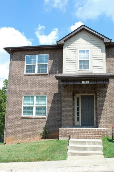 Christian County, Ky, Todd County, Ky, Montgomery County Condo/Townhouse For Sale: 90 Promontory Ln