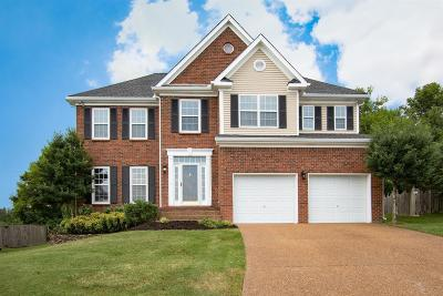 Thompsons Station Single Family Home For Sale: 1319 Saybrook Crossing