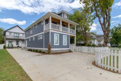 East Nashville Single Family Home Under Contract - Showing: 1013 A Spain Ave
