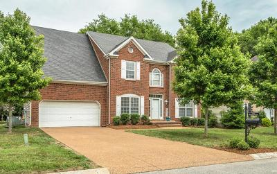 Thompsons Station Single Family Home Under Contract - Showing: 1039 Watauga Ct