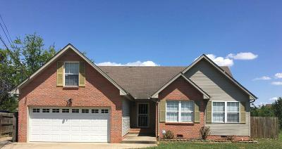 Clarksville TN Single Family Home For Sale: $148,000