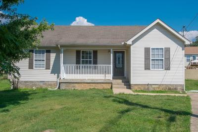 Lavergne Single Family Home Under Contract - Showing: 436 Norfolk Dr