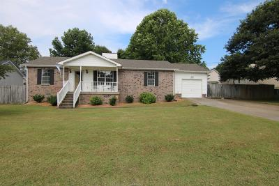 Single Family Home Under Contract - Showing: 1108 Richard Lee Cir