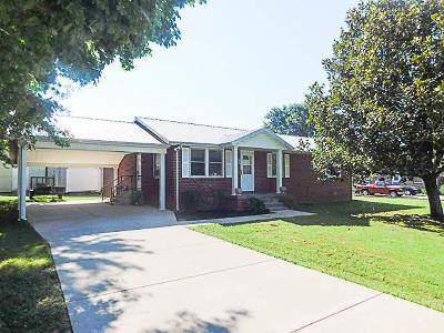 Murfreesboro Single Family Home Under Contract - Not Showing: 4134 Evans St